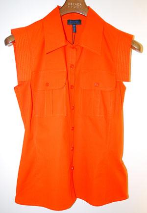 Оранжева риза Еscada Sport, 430 лв
