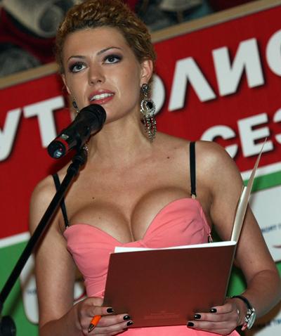 Гергана ГунчеваМис България 2005 е красила корица на Playboy,a от няколко месецаводи спортните новинина ТВ+.