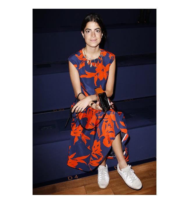 Леандра Медин - блогърка в Man repeller