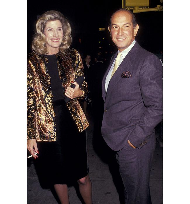 Нанси Кисинджър и Оскар де ла Рента, 1987