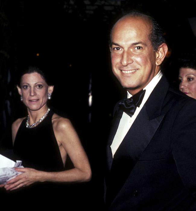 Анет де ла Рента и Оскар де ла Рента, 1983