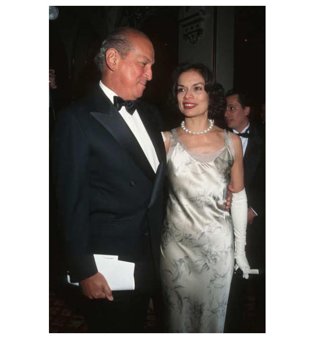 Оскар де ла Рента и Бианка Джагър, 1995