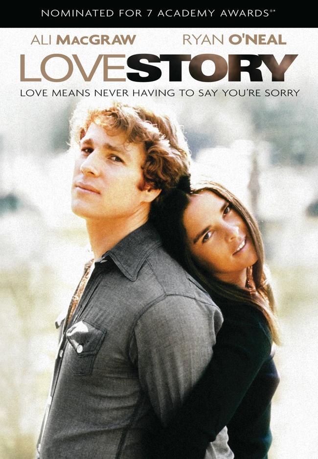 Love Story, 1970 Харвардският студент по право Оливър Барет и студентката по музика Дженифър Кавилери имат увлечение един към друг, което не могат да отрекат и любов, която не могат да пренебрегнат. Въпреки различията в произхода си, те успяват да намерят хармония в отношенията си. Когато се женят, богатият баща на Оливър го заплашва, че ще се отрече от него. Джени се опитва да помири двамата, но без успех. Оливър и Джени продължават да градят живота си, разчитайки единствено един на друг, вярвайки, че любовта ще излекува всяка рана. Съдбата обаче има други планове...