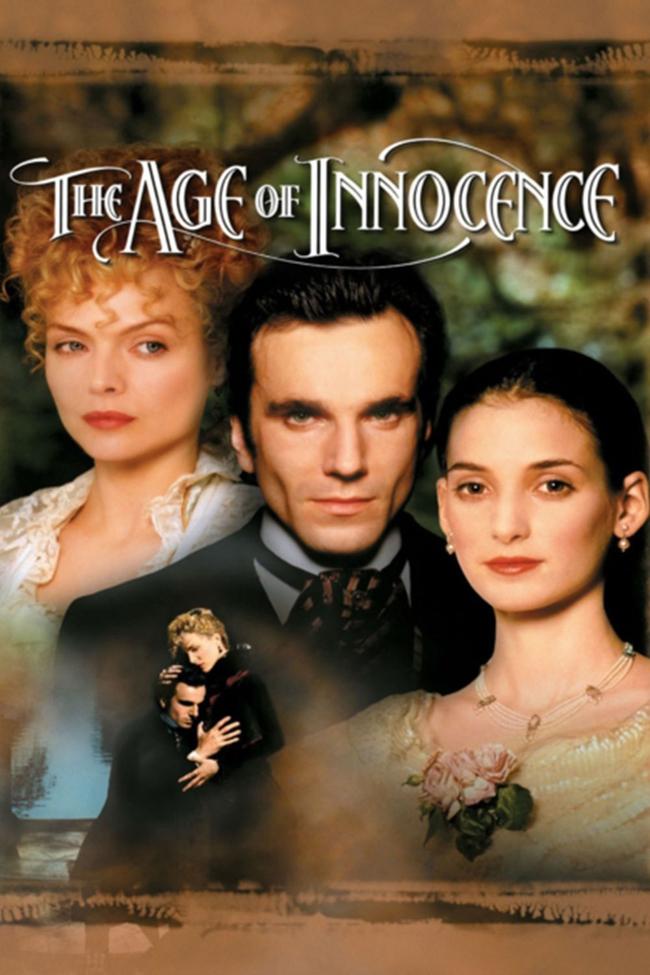 The Age of Innocence, 1993 В свят на традиции, време на невинност, те дръзнаха да нарушат правилата. Пленителен романс за трима заможни американци, оплетени в трагичен любовен триъгълник, разкриващ великолепието и лицемерието във висшето общество от 80-те години на 19 век. Нюлънд Арчър е известен адвокат, който копнее за по-страстен живот. Сгоден за прекрасната, но твърде обикновена Мей Уеланд, Нюланд се примирява с живот, изпълнен със спокойствие. Но когато необикновената братовчедка на Мей - графиня Елън Оленска, се връща в Ню Йорк след сексскандал, Нюланд е запленен от загадъчната й репутация и изключителната й красота. Сега той трябва да избере межу Мей и света, който познава, и Елън и света, за който мечтае.