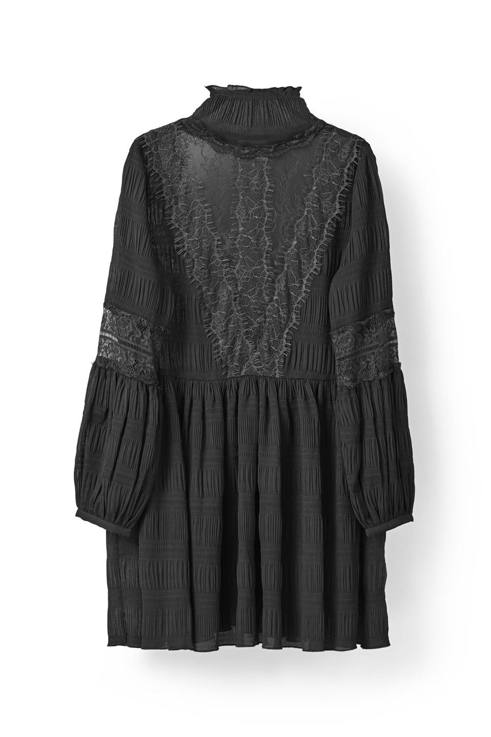 McKinney Pleat Dress 179 евро ganni.com