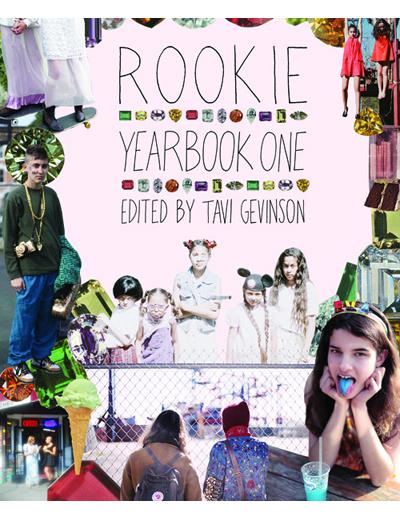 Rookie Yearbook One352 страница събрани статии, интервюта, снимки и илюстрации от първата година на списание Rookie - онлайн тийн списанието на блогърката Тави Гевинсон.Отrookiemag.com