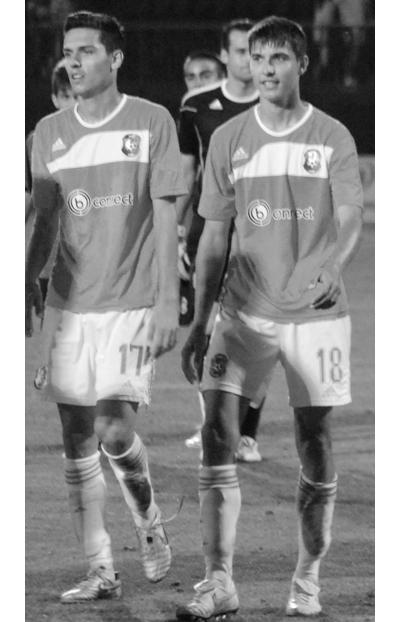 Георги и Илия МилановиТе са млади и надеждни, освен това вървят в комплект - Георги и Илия Миланови са футболното включване в нашата класация.