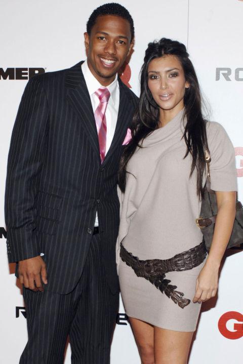 Ким Кардашян и Ник Кенън Екс съпругът на Марая Кери - Ник и Ким са гаджета от септември 2006 до началото на 2007 година.