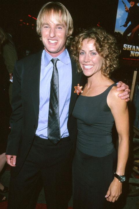 Шерил Кроу и Оуен Уилсън Двамата са заедно от 1999 до 2001 година.