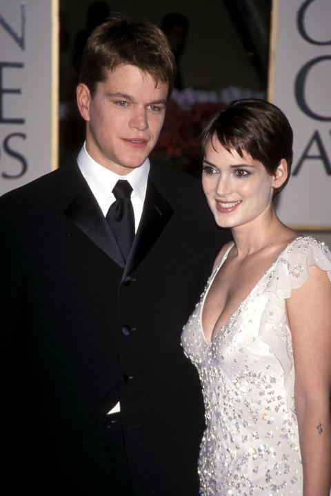 Мат Деймън и Уинона Райдър Актьорската двойка се разделя през 2000-та година след около 2-годишен бурен романс.