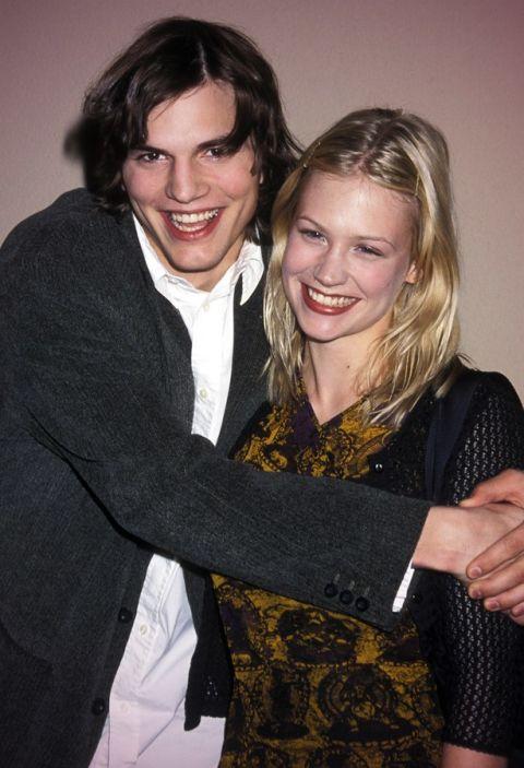 Аштън Кътчър и Дженюъри Джоунс Младите актьори се радват на любовта си от 1998 до 2001 година.