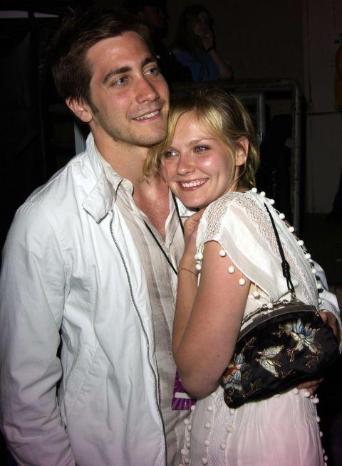 Джейк Джиленхол и Кирстен Дънст Двамата актьори са двойка близо две години преди през 2004-та да решат да прекратят любовните си отношенията.