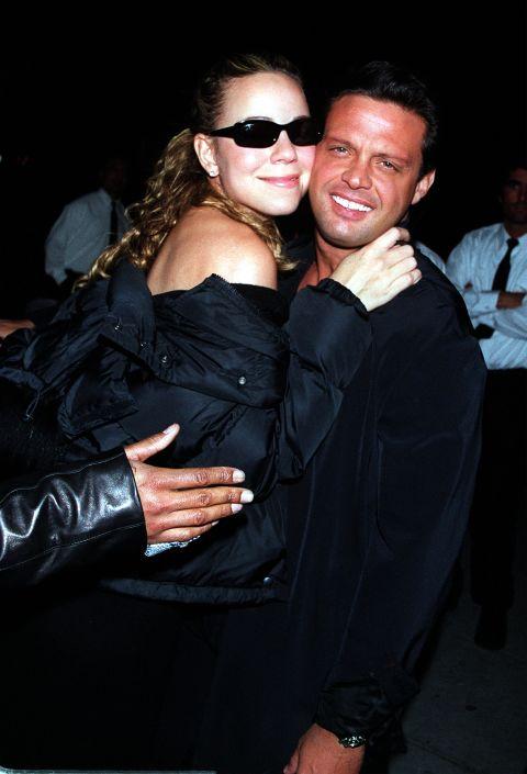Марая Кери и Луис Мигел От 1999 до 2001 година поп дивата и музикалният продуцент изживяват бурен романс.