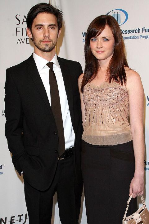 Алексис Бладел и Мило Вентимиля Двамата актьори пренасят романса си от малкия екран в истинския живот, но всичко трае едва три години - от 2003 до 2006 година.