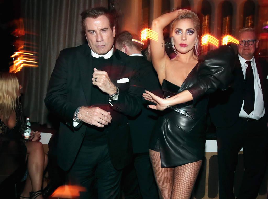 Джон Траволта и Лейди Гага