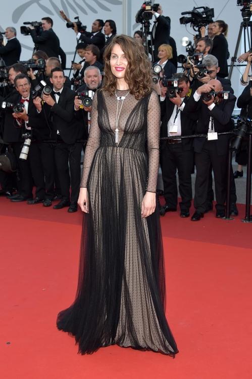 Летисия Каста в Dior couture