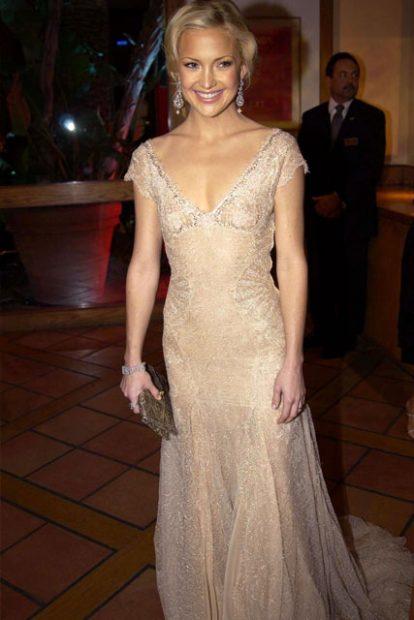Това вълшебство на Versace, което бе облечено от очарователната Кейт Хъдзън през 2003 година.