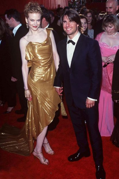 Три години по-късно Никол беше златното момиче на Том, а стилът й категорично се открояваше от другите.