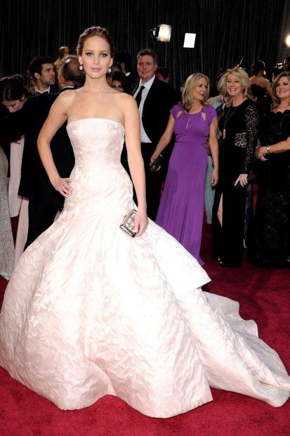 Да, Дженифър Лоурънс в Dior!
