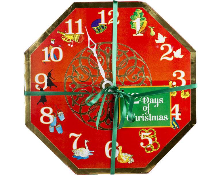 LUSH 114лева Направен като часовник, който гласи, че остават едва 12 дни до Коледа, календарът на Lush е изпълнен с какви ли не ароматни изкушения.
