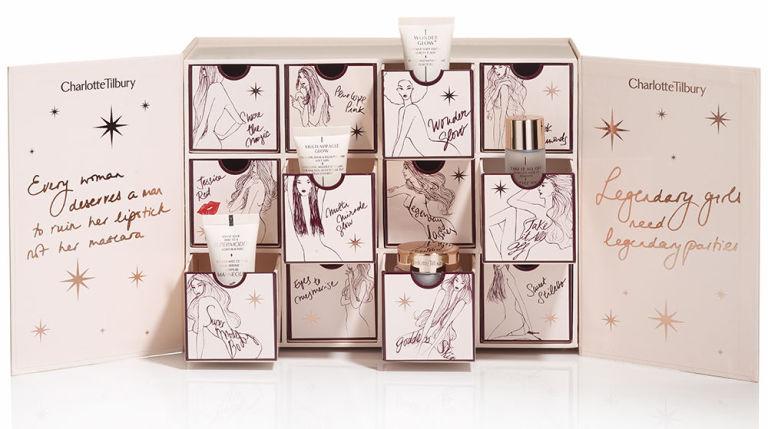 CHARLOTTE TILBURY 343лева Кутията с луксозен и чаровен дизайн съдържа най-добрите продукти на марката, които са мечта за всеки бюти почитател.
