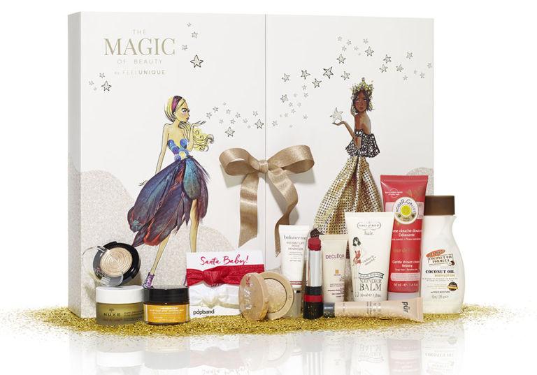 FEELUNIQUE 68лева За скромната си цена коледният календар на FeelUnique е направо съкровище. С него отброяваме дните до Коледа с продукти на Nuxe, Decleor, Ole Henriksen, Rimmel и Bourjois!