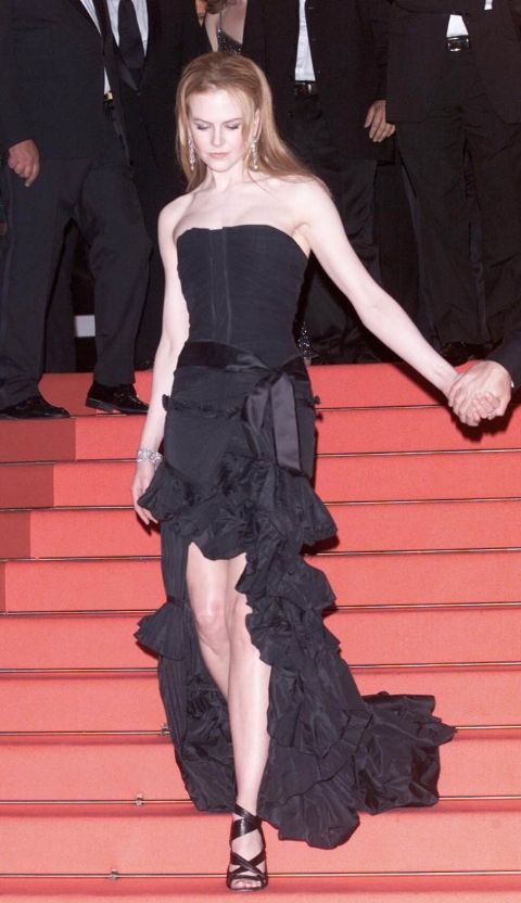 2001 Никол Кидман в Yves Saint Laurent