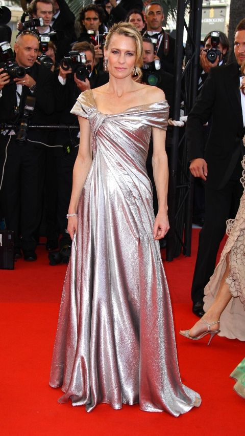 2009 Робин Райт в Elie Saab Haute Couture