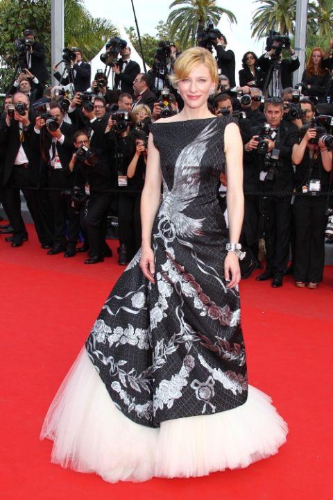 2010 Кейт Бланшет в Alexander McQueen