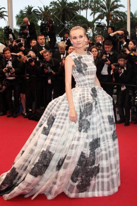 2012 Даян Крюгер в Dior Haure Couture