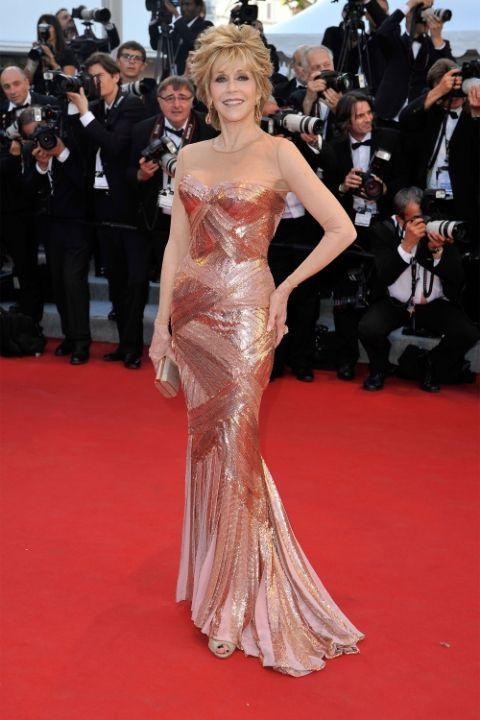 2012 Джейн Фонда в Atelier Versace