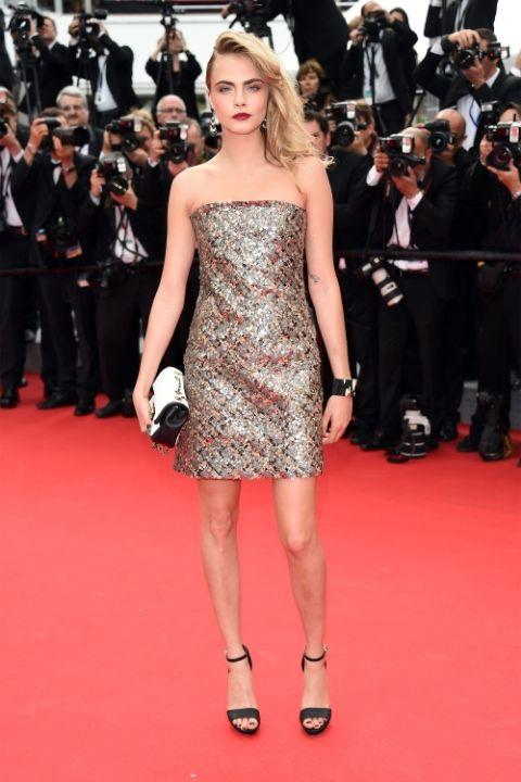 2014 Кара Делевин в Chanel Haure Couture