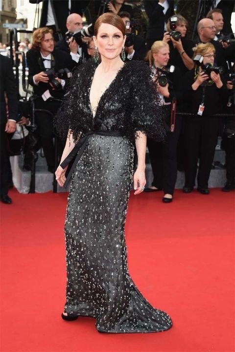 2015 Джулиан Мур в Chanel Haure Couture
