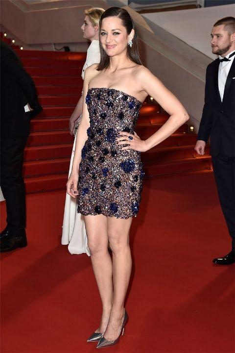 2015 Марион Котияр в Dior