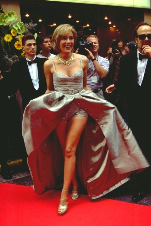 1995 Шарън Стоун във Valentino
