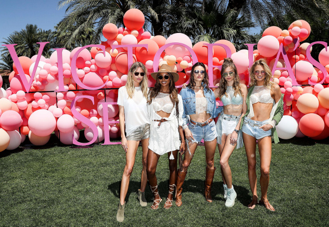 Ангелите на Victorias Secret