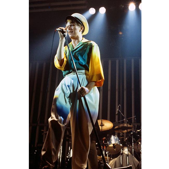 14 май 1978 г.  В широки панталони и шарена риза за концерт във Франкфурт, Германия.