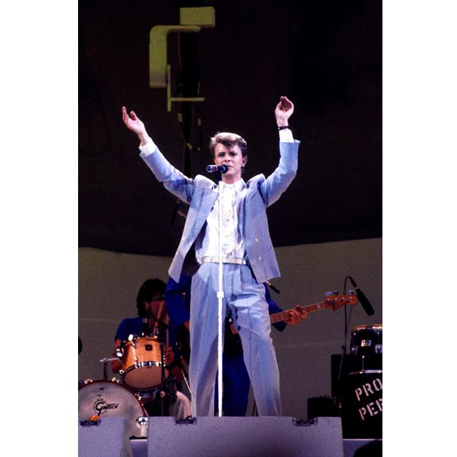 13 юли 1985 г.  С костюм на сцената, за пореден път.