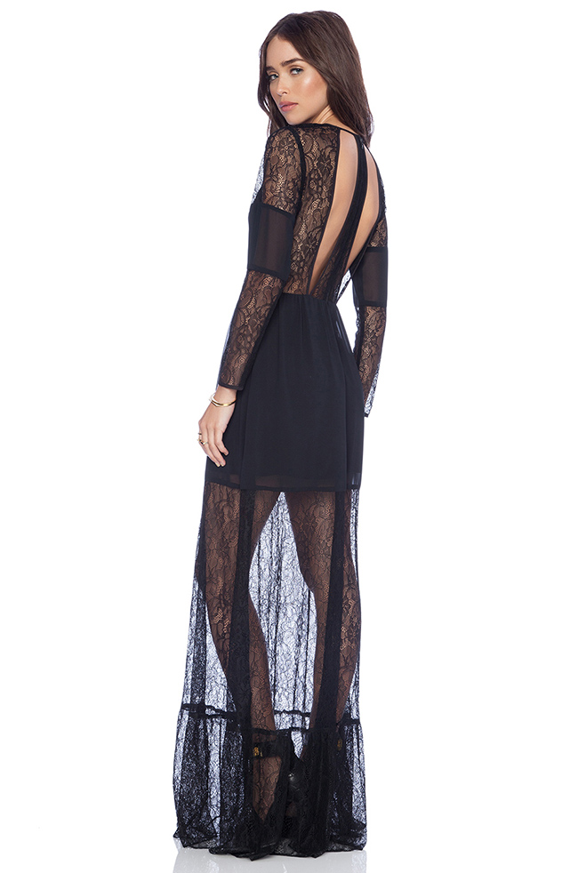 Cut Out Lace Maxi Dress 160 долара revolveclothing.com