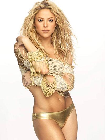 Шакира е талисманът на Жерард Пике