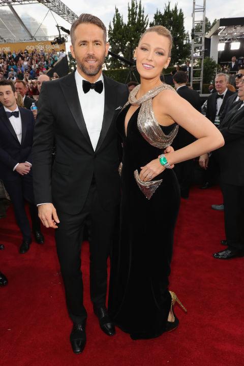 Райън Рейнолдс и Блейк Лайвли в Atelier Versace