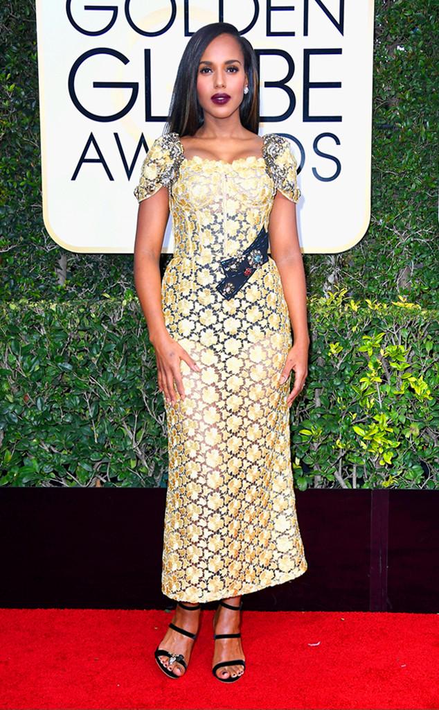 Може и да е Dolce & Gabbana, но какво от това. Кери Вашингтон определено не уцели с тоалет на тази церемония.