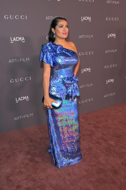 Салма Хайек в Gucci
