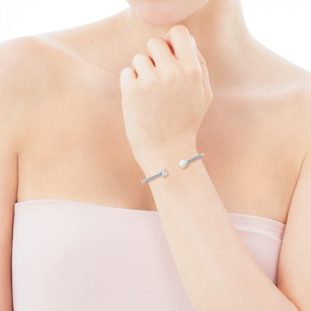 Сребърна гривна Tous. Още един прекрасен подарък за прекрасните жени в живота ни. 204лв. tous.com