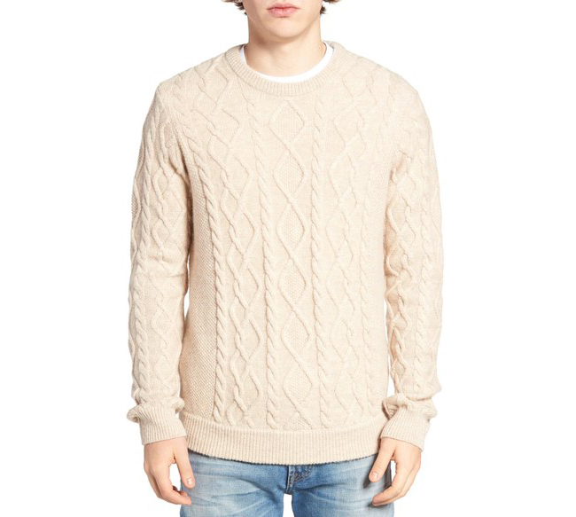 You fit me better than my favourite sweater с този пуловер на Original Penguin.