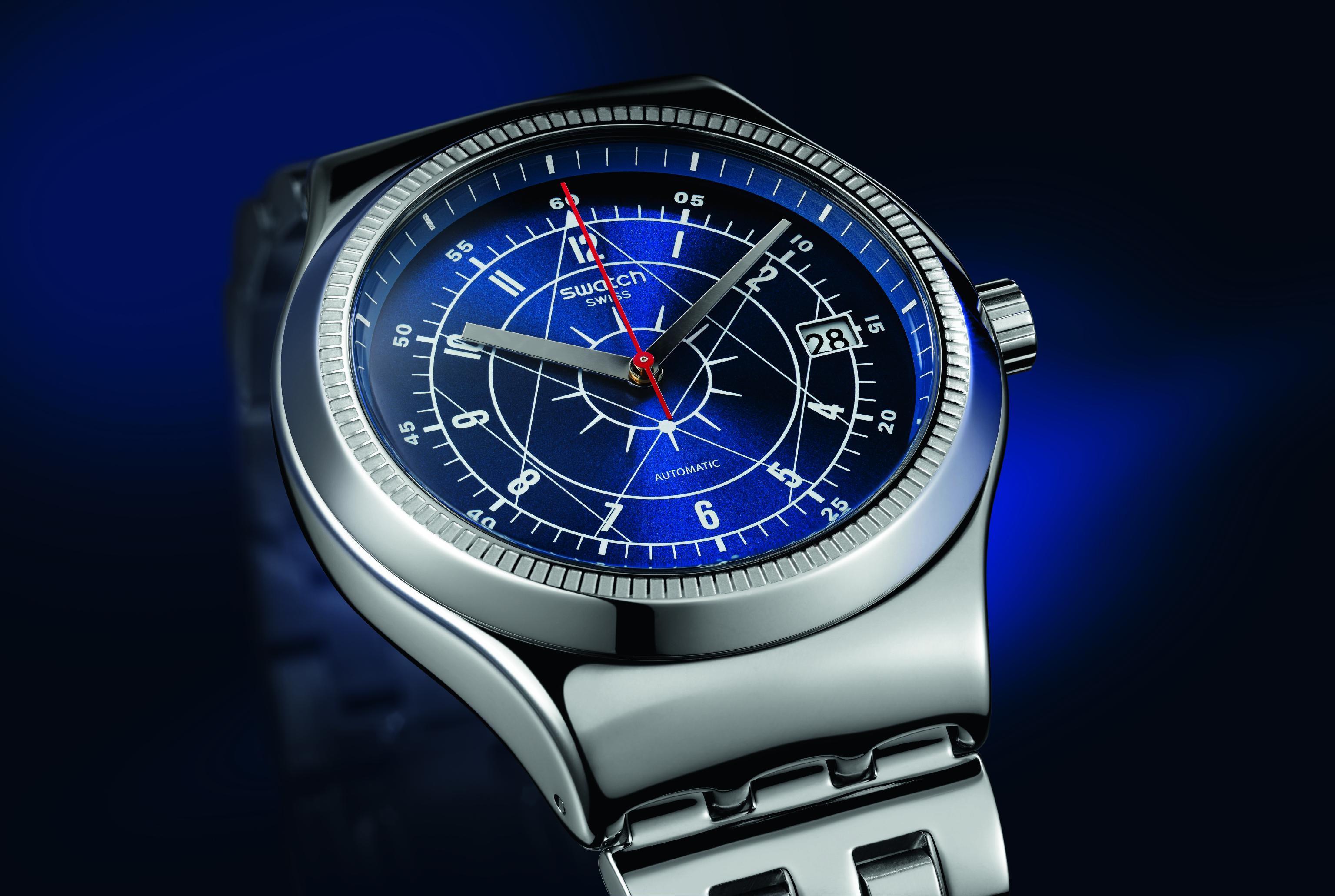 Часовник SISTEM BOREAL-прецизен швейцарски автоматик за ценителите на класически дизайн, съчетан със съвременния Swatch стил. 390 лв. swatch.bg