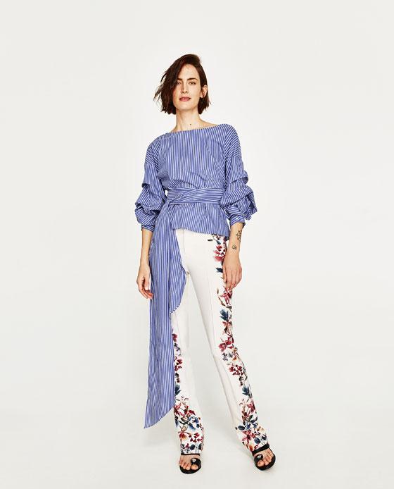 Раирана блуза ZARA; от 59,95лв. на 29,99лв
