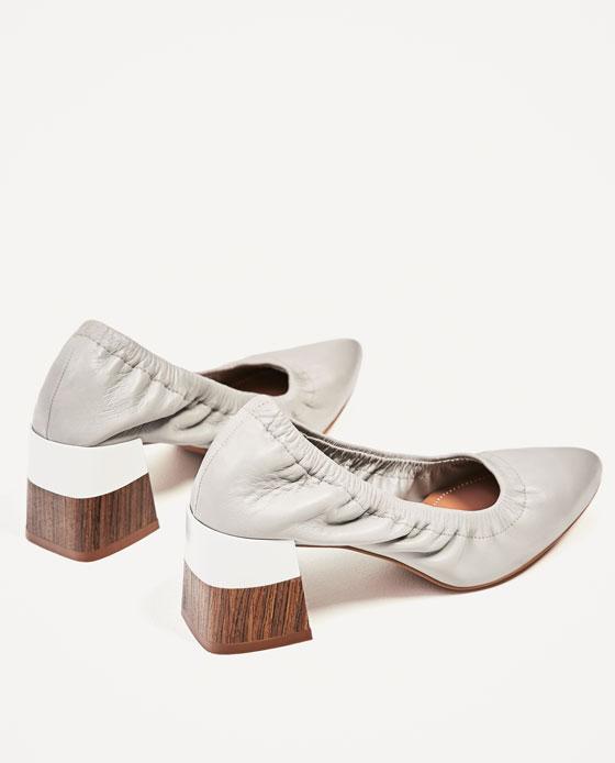 Кожени обувки ZARA; от 99,95лв на 59,99лв.