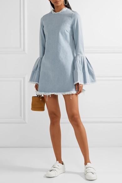 Дънкова рокля Marques Almeida; от 784лв. на 549лв.