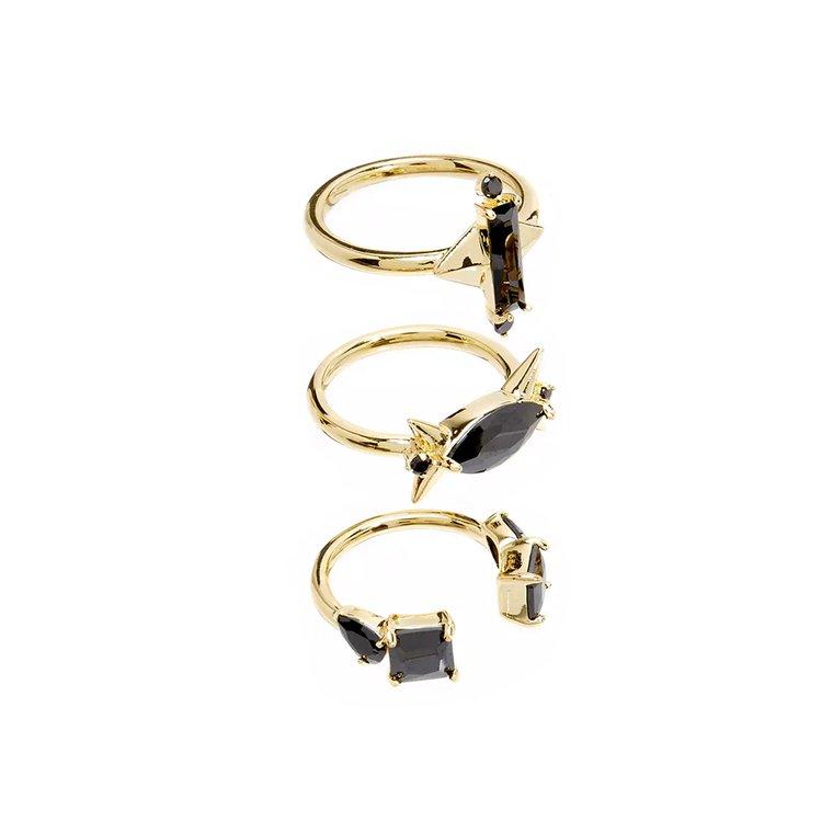 Сет пръстени NOIR Jewelry; от 115лв. на 53лв.